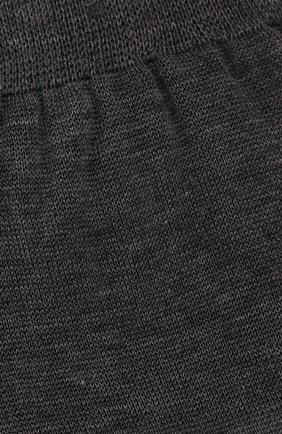 Мужские хлопковые носки BRIONI серого цвета, арт. 0VMC00/P3Z19 | Фото 2 (Материал внешний: Хлопок; Кросс-КТ: бельё)