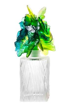 Мужской флакон для духов butterfly prestige DAUM зеленого цвета, арт. 05518-1 | Фото 1