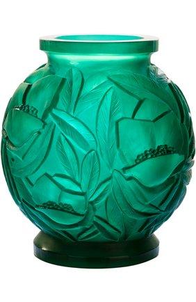 Мужского ваза empreinte DAUM зеленого цвета, арт. 05584 | Фото 1