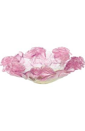 Мужского ваза для фруктов roses DAUM розового цвета, арт. 01672 | Фото 1