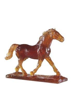 Мужского скульптура horse DAUM коричневого цвета, арт. 02566-1 | Фото 1