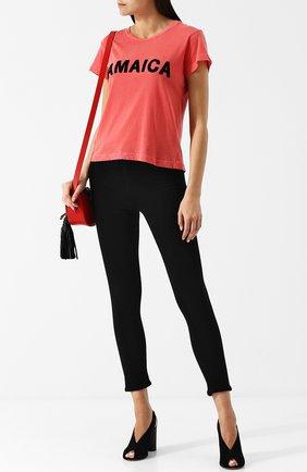 Укороченные джинсы-скинни | Фото №2
