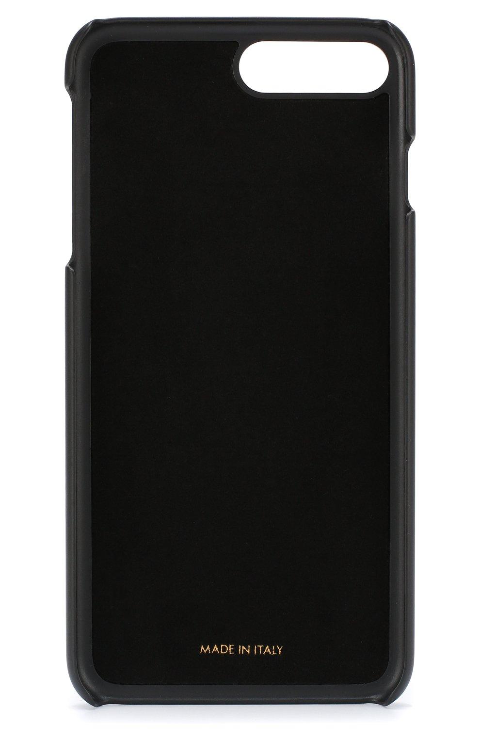 Кожаный чехол для iPhone 7/8 Dolce & Gabbana  | Фото №2