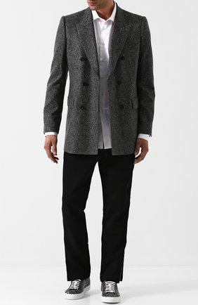 Двубортный кашемировый пиджак | Фото №2