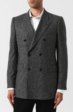 Двубортный кашемировый пиджак | Фото №3