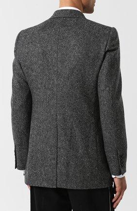 Двубортный кашемировый пиджак | Фото №4