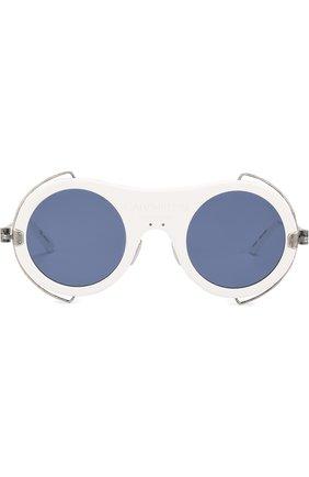 Солнцезащитные очки CALVIN KLEIN 205W39NYC белые | Фото №1