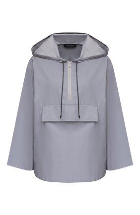Женская однотонная куртка с капюшоном SUBTERRANEI серого цвета, арт. P8subss18-010   Фото 1