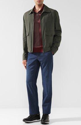 Мужские джинсы прямого кроя BRIONI темно-синего цвета, арт. SPL52D/P3D02/SUNSET | Фото 2
