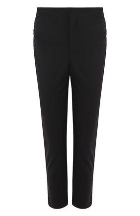 Однотонные укороченные брюки | Фото №1