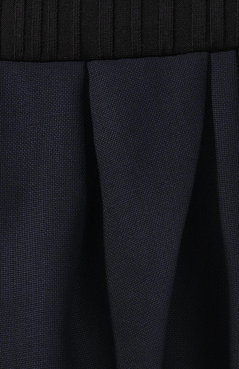 Однотонное хлопковое платье с открытой спиной   Фото №5
