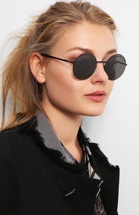 Мужские солнцезащитные очки MYKITA черного цвета, арт. STUDI0 1.4/BLACK/SILVER/BLACK | Фото 2