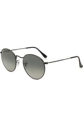 Женские солнцезащитные очки RAY-BAN черного цвета, арт. 3447N-002/71 | Фото 1