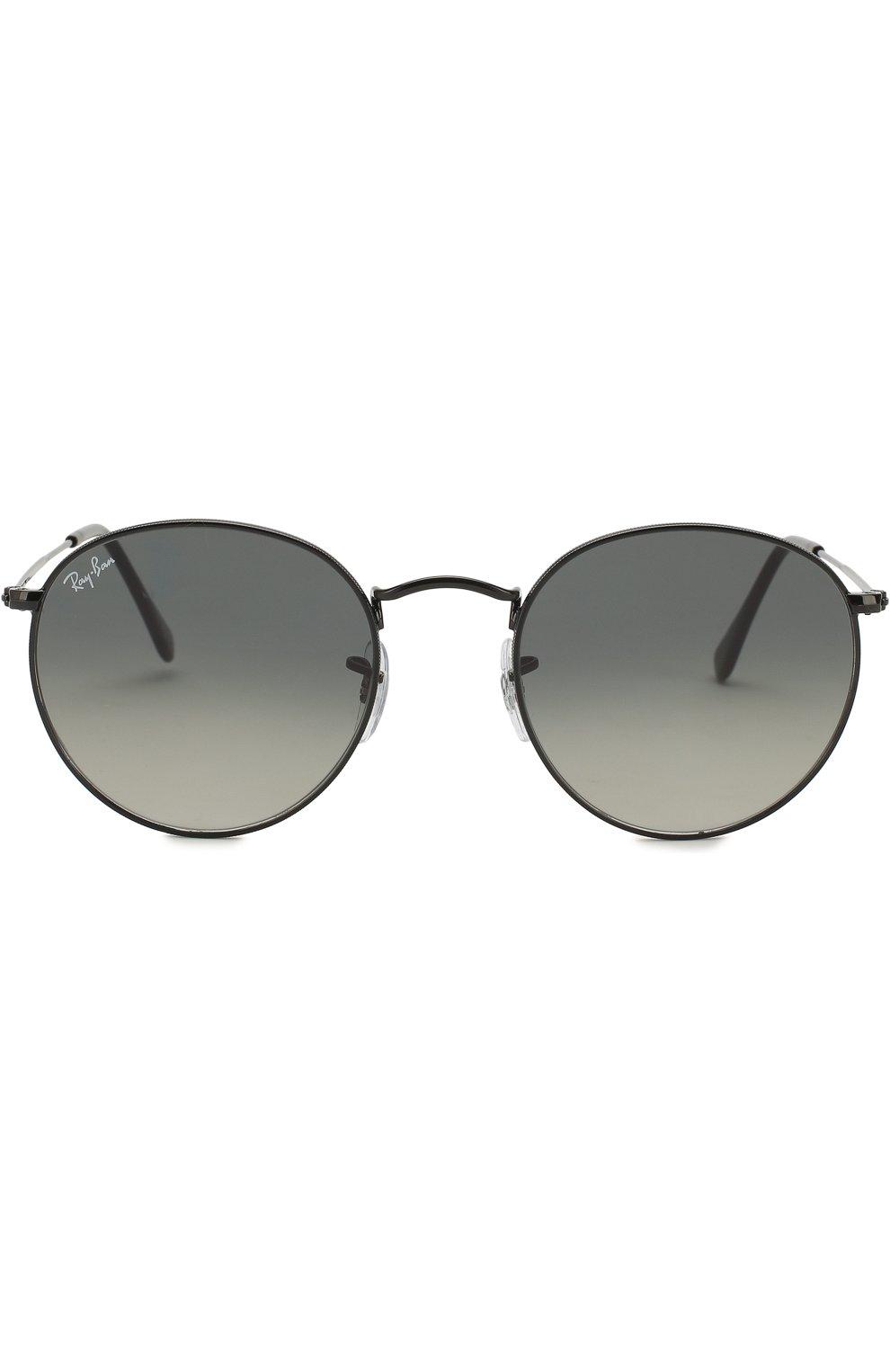 Женские солнцезащитные очки RAY-BAN черного цвета, арт. 3447N-002/71 | Фото 3