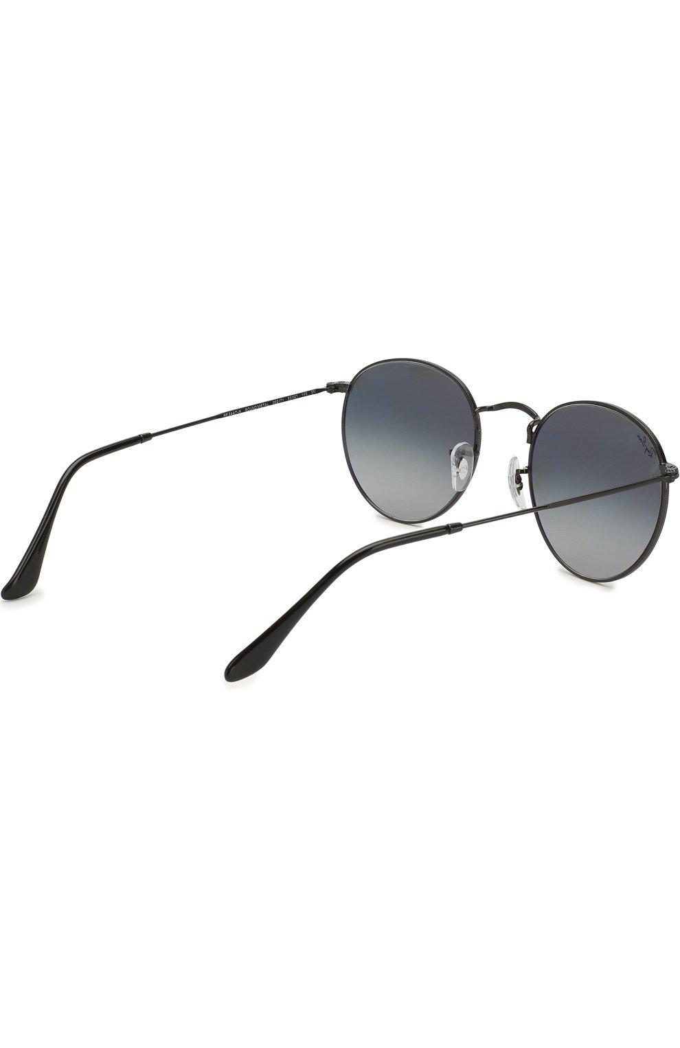 Женские солнцезащитные очки RAY-BAN черного цвета, арт. 3447N-002/71 | Фото 4