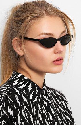 Мужские солнцезащитные очки VOGUE EYEWEAR черного цвета, арт. 5237S-W44/87 | Фото 2