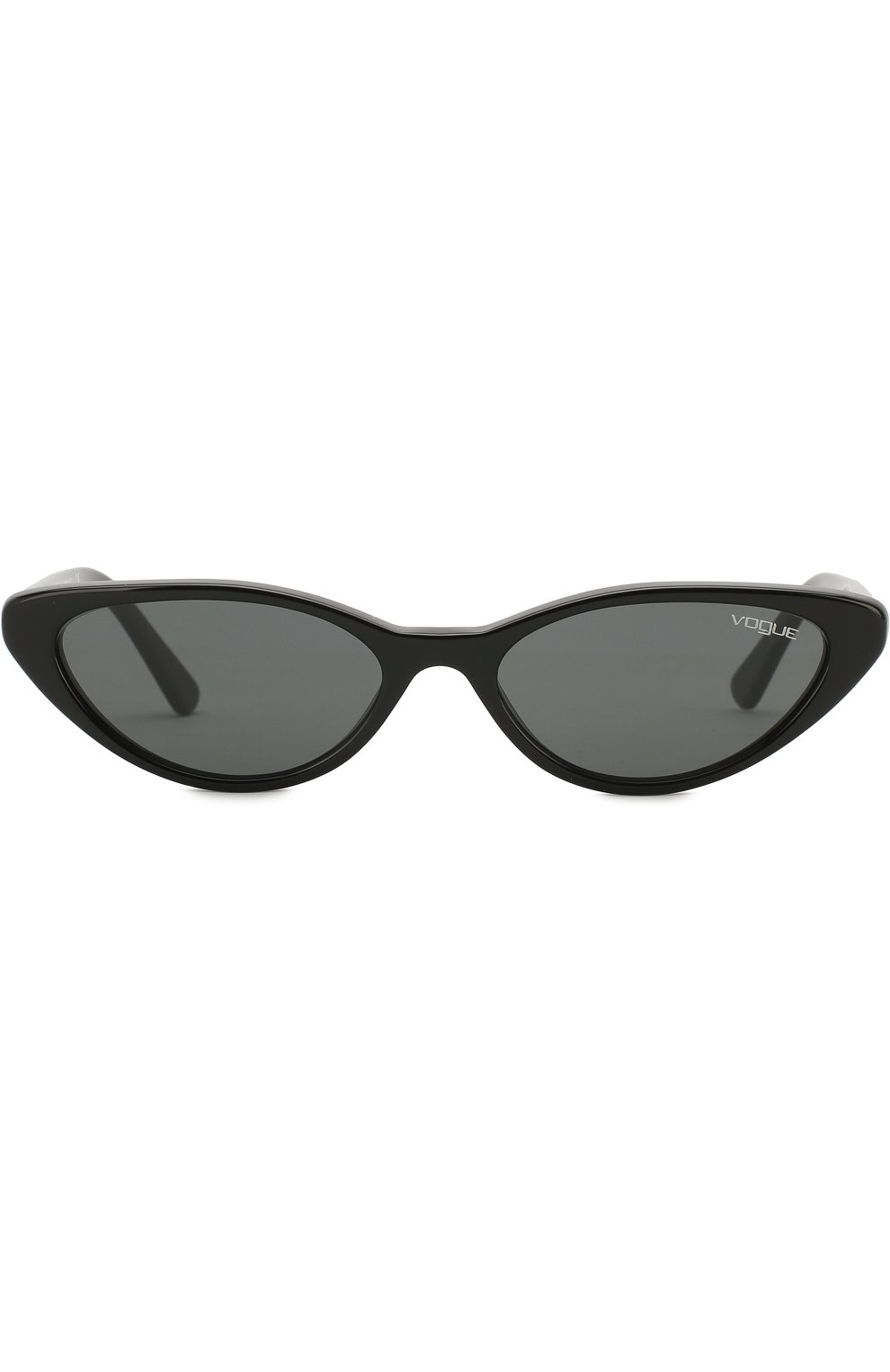Женские солнцезащитные очки VOGUE EYEWEAR черного цвета, арт. 5237S-W44/87 | Фото 3