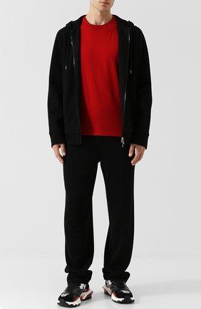 Мужские текстильные кроссовки valentino garavani bounce VALENTINO серого цвета, арт. QY2S0B15/VGI | Фото 2