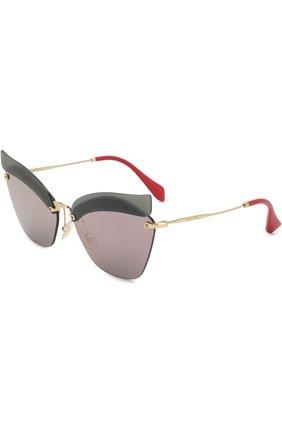Солнцезащитные очки Miu Miu разноцветные | Фото №1