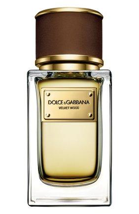 Женский парфюмерная вода velvet collection wood DOLCE & GABBANA бесцветного цвета, арт. 3026625DG | Фото 1