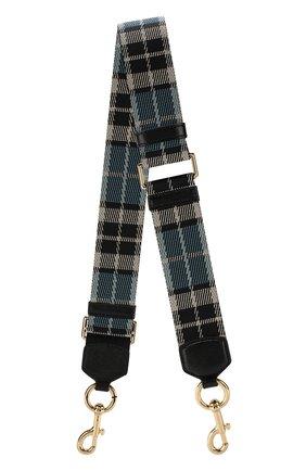 Текстильный ремень для сумки Marc Jacobs разноцветного цвета | Фото №1