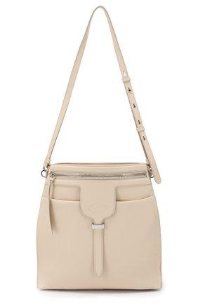 Женская сумка thea small TOD'S белого цвета, арт. XBWANSE0200HWKB010 | Фото 1