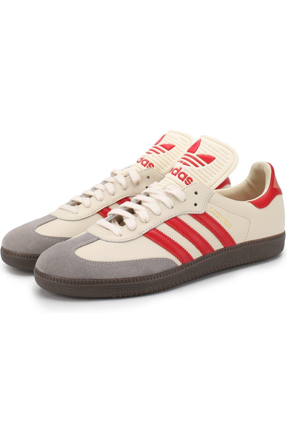Мужские бежевые кроссовки samba classic og ADIDAS ORIGINALS — купить ... 8807b037759