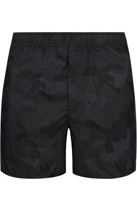Плавки-шорты с камуфляжным принтом | Фото №1