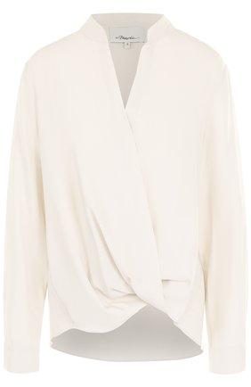 Женская однотонная блуза из вискозы 3.1 Phillip Lim, цвет бежевый, арт. P181-2020RVT в ЦУМ | Фото №1