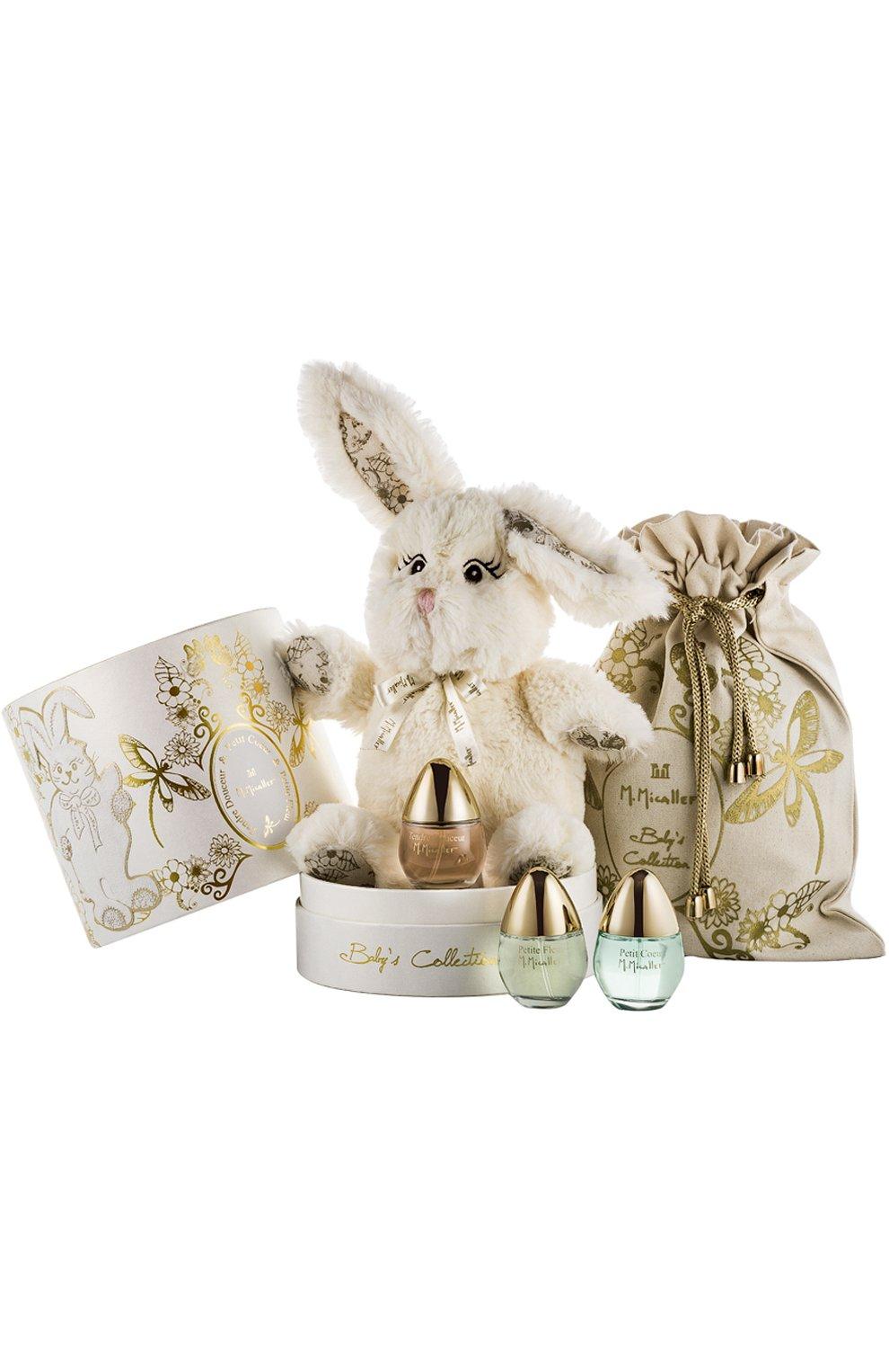 Детского набор baby collection: petite coeur + petite fleur + tendre douceur (3x30ml) M. MICALLEF бесцветного цвета, арт. 3760231051109 | Фото 1 (Статус проверки: Проверена категория)