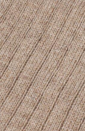 Мужские кашемировые носки BRIONI бежевого цвета, арт. 0VMC00/07Z03   Фото 2