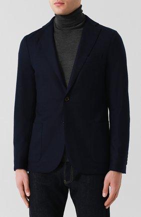 Мужской шерстяной пиджак ELEVENTY UOMO темно-синего цвета, арт. 979JA0001 JAC24018 | Фото 3
