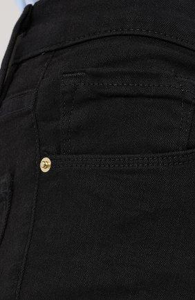 Однотонные джинсы-скинни | Фото №5
