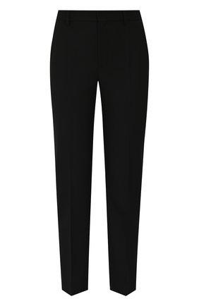 Укороченные шерстяные брюки со стрелками