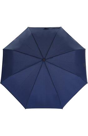 Женский складной зонт с логотипом бренда MOSCHINO синего цвета, арт. 8509-T0PLESS | Фото 1