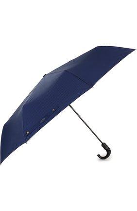 Женский складной зонт с логотипом бренда MOSCHINO синего цвета, арт. 8509-T0PLESS | Фото 2