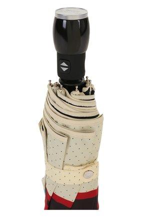 Складной зонт с принтом Moschino черный   Фото №5