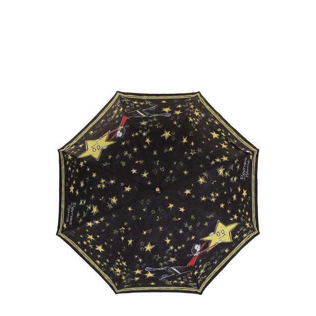 Зонт-трость с принтом Moschino