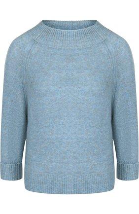 Однотонный шерстяной пуловер 3.1 Phillip Lim голубой | Фото №1