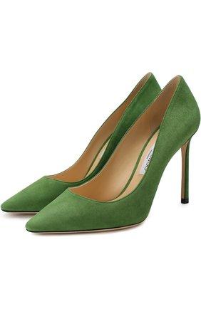 Замшевые туфли Romy 100   Фото №1