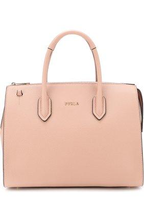 Сумка-тоут Pin Furla светло-розовая цвета | Фото №1