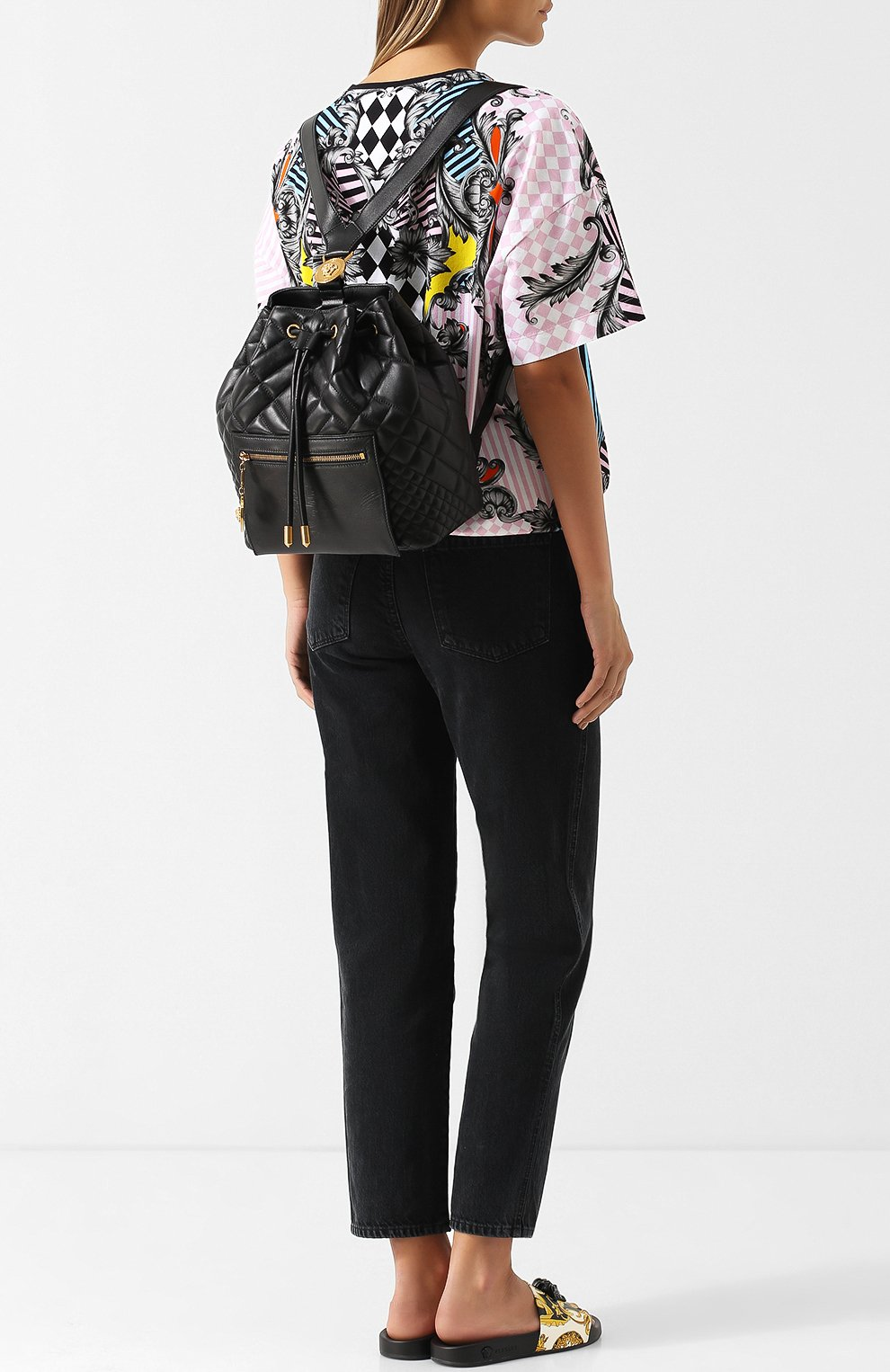 Рюкзак Tribute из стеганой кожи | Фото №2