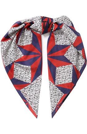 Хлопковый платок с принтом CALVIN KLEIN 205W39NYC разноцветный | Фото №1