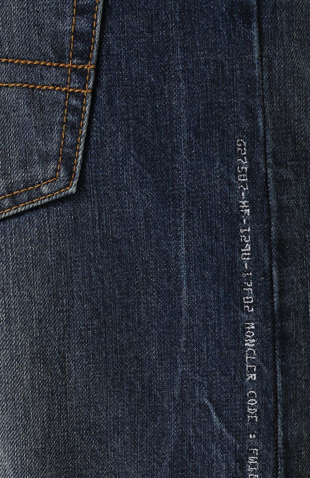 Джинсы Moncler Fragment Hiroshi Fujiwara Moncler Genius синие | Фото №5