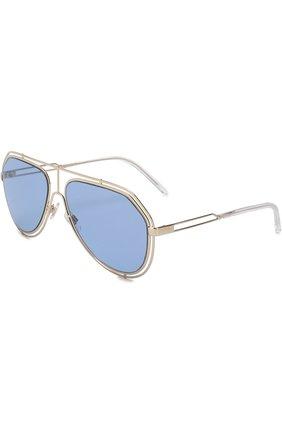 Мужские солнцезащитные очки DOLCE & GABBANA голубого цвета, арт. 2176-488/72 | Фото 1