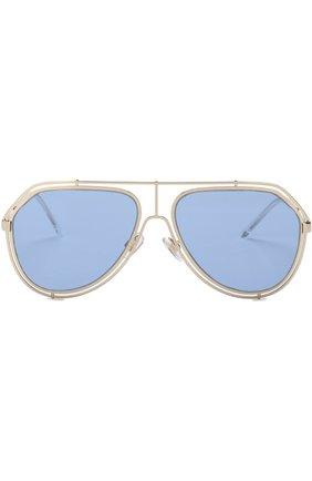 Мужские солнцезащитные очки DOLCE & GABBANA голубого цвета, арт. 2176-488/72 | Фото 2