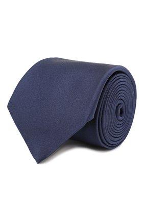 Мужской шелковый галстук CANALI темно-синего цвета, арт. 18/HJ01047   Фото 1