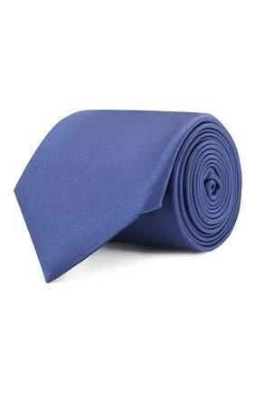 Мужской шелковый галстук CANALI синего цвета, арт. 18/HJ01047   Фото 1