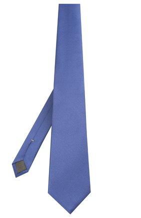 Мужской шелковый галстук CANALI синего цвета, арт. 18/HJ01047   Фото 2