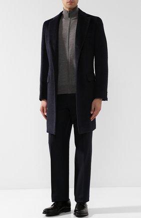 Мужской кожаные дерби с брогированием и внутренней меховой отделкой H`D`S`N BARACCO черного цвета, арт. 57223.0* | Фото 2